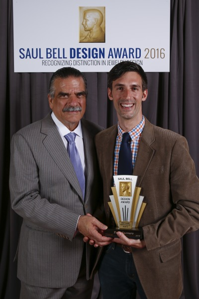 Ferrero takes 1st Place in 2016 Saul Bell Design Award for Hollowware